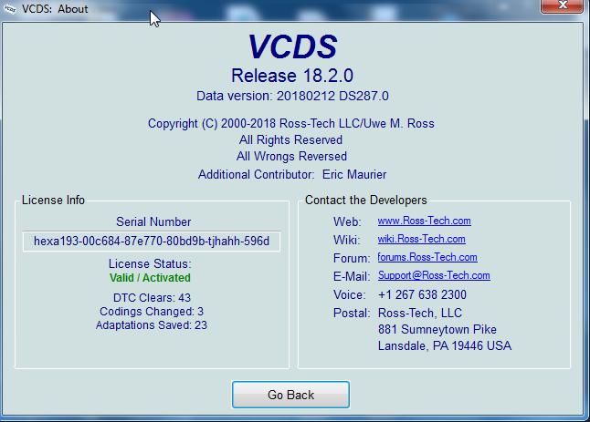 FRANCAIS 17.1.1 GRATUITEMENT VCDS TÉLÉCHARGER